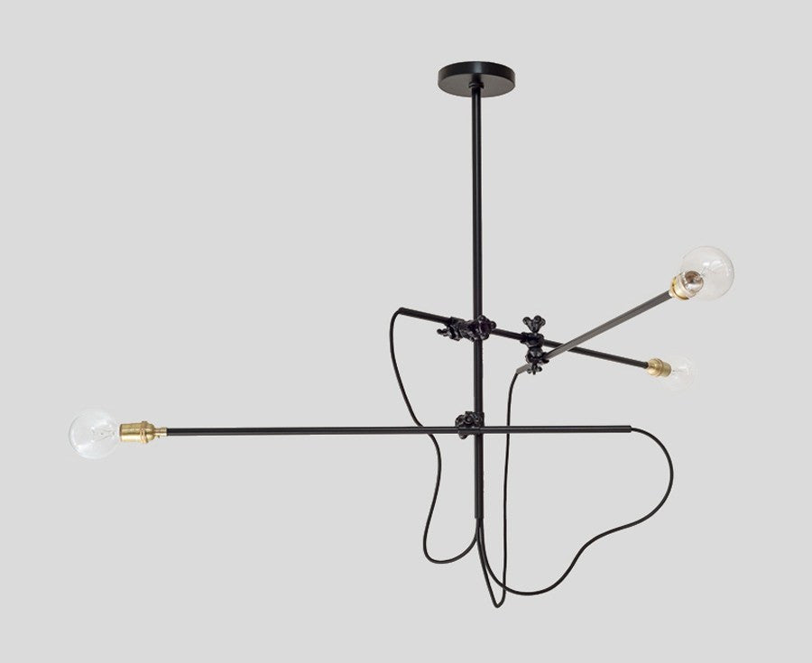 Industrial chandelier by workstead dshop workstead industrial chandelier in black dshop aloadofball Image collections