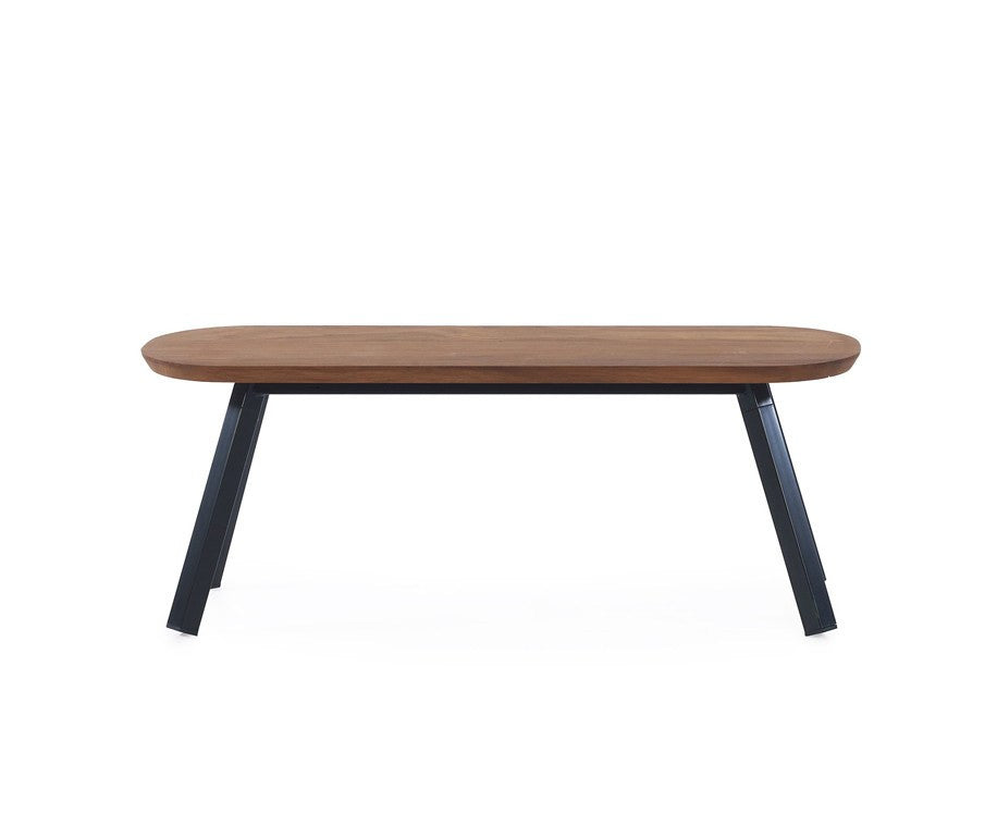 You & Me Wood Bench - 47 Inch