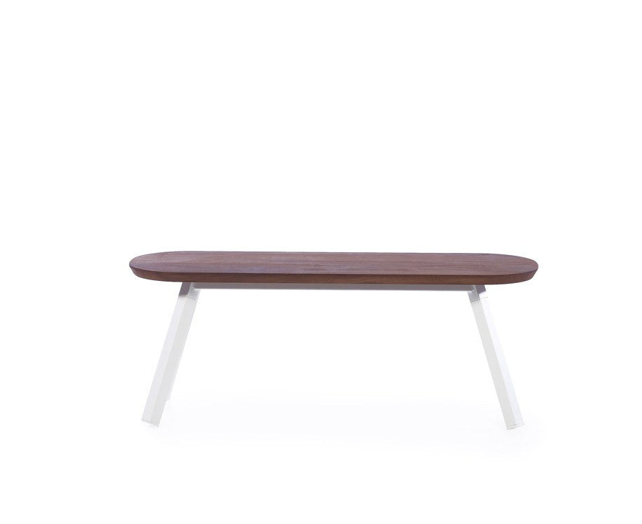 You & Me Wood Bench - 47 Inch by RS Barcelona | DSHOP