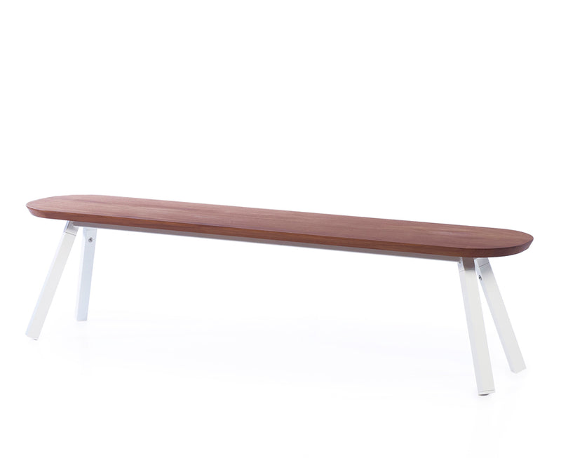 You & Me Wood Bench - 71 Inch by RS Barcelona | DSHOP