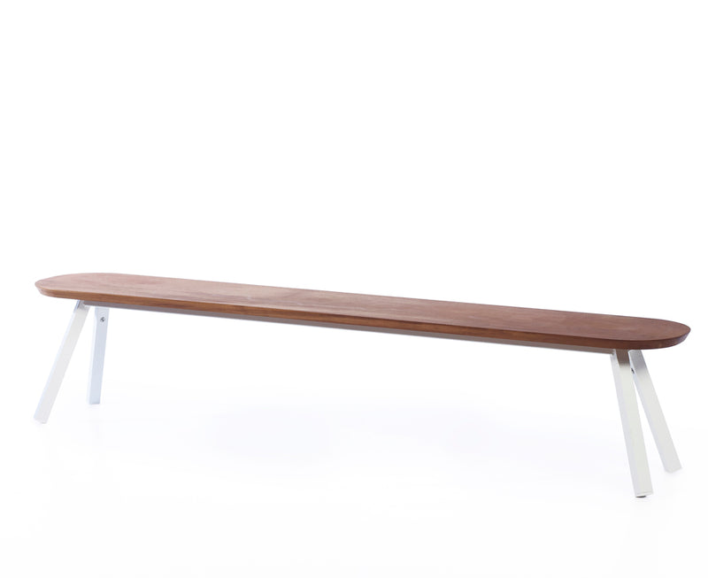 RS Barcelona You & Me Wood Bench - 87 Inch | DSHOP