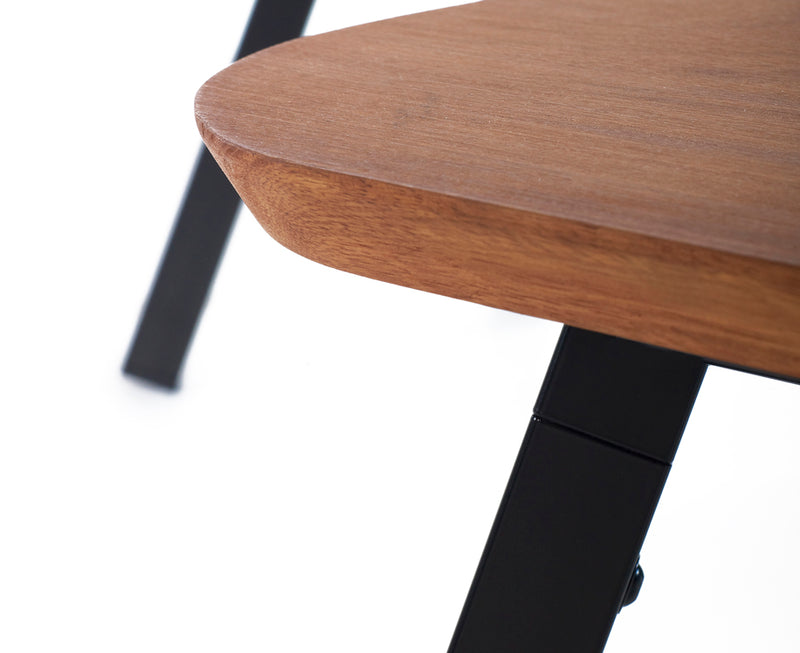 You & Me Sporty Wood Stool | DSHOP