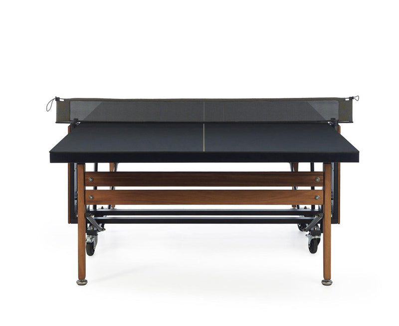 RS Folding Ping Pong Table   Black