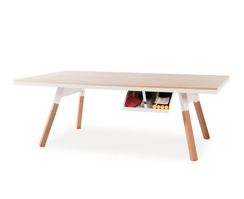 You & Me Ping Pong Table - Oak