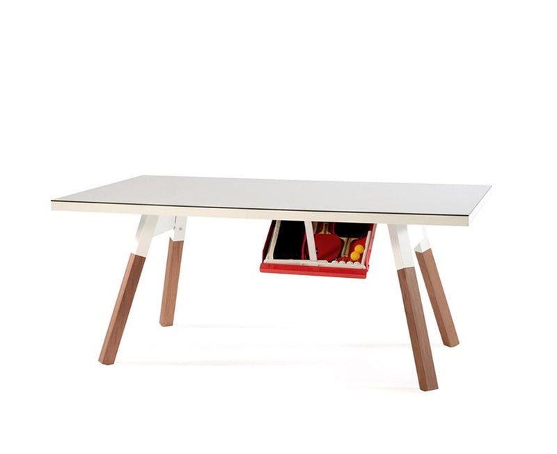 You & Me Ping Pong Table - Mini - White | DSHOP