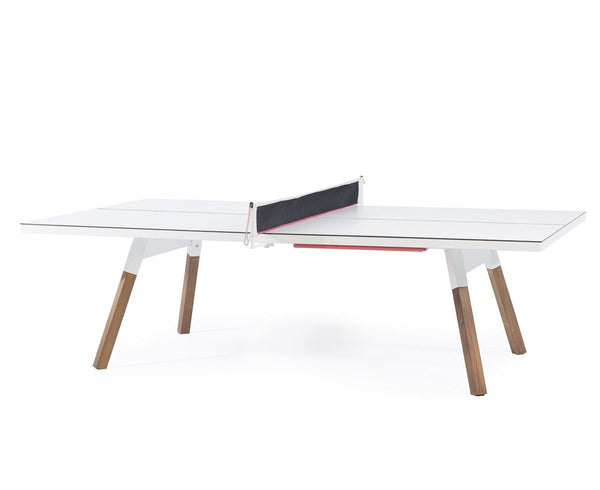 White luxury ping pong table | DSHOP