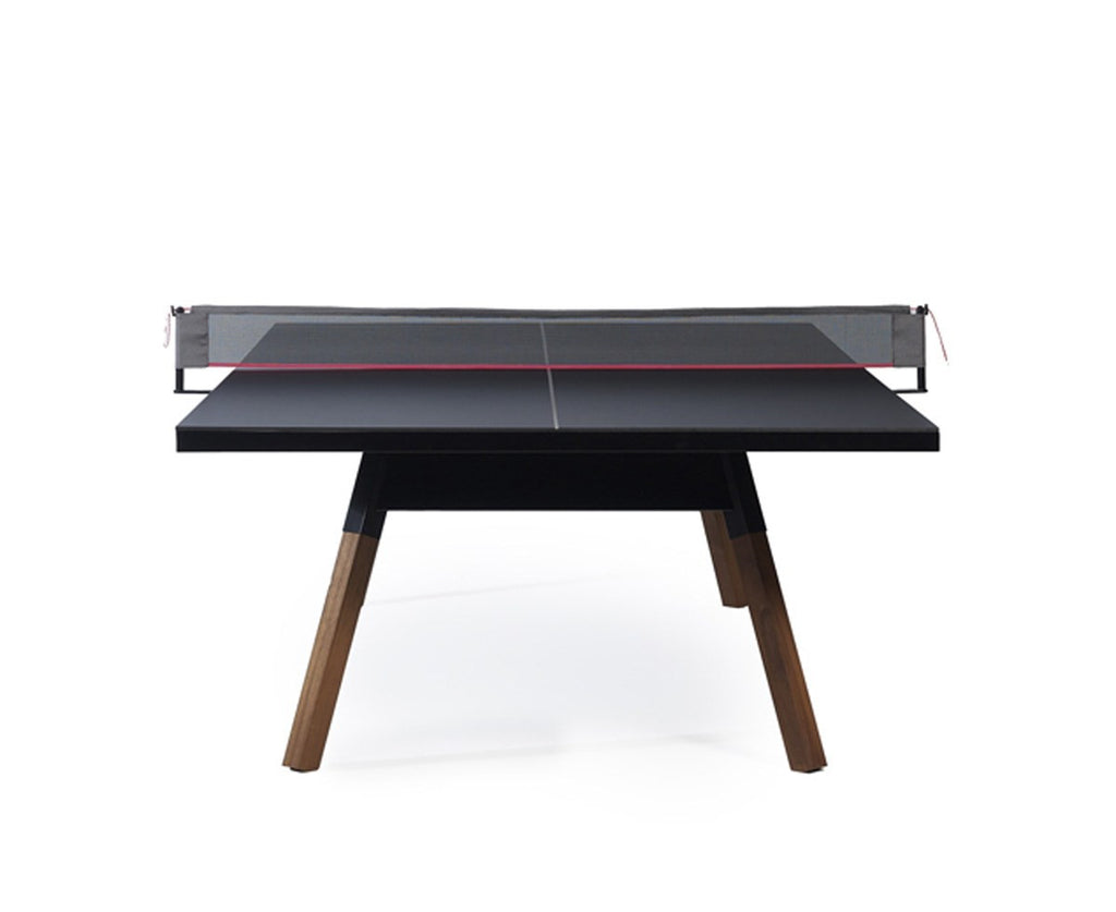 You & Me Luxury Ping Pong Table - Medium - Black | DSHOP