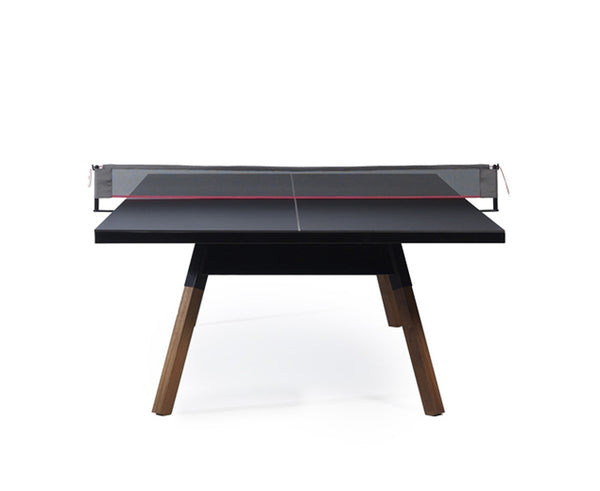 Black luxury ping pong table | DSHOP