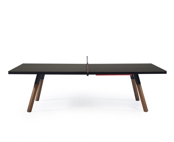 You & Me Ping Pong Table - Standard - Black | DSHOP
