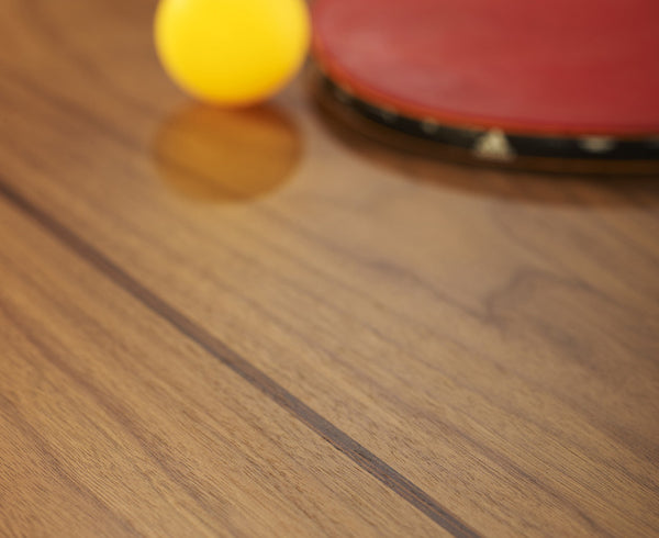 You & Me Luxury Ping Pong Table - Walnut
