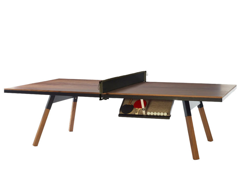 Luxury You & Me Ping Pong Table - Walnut | DSHOP