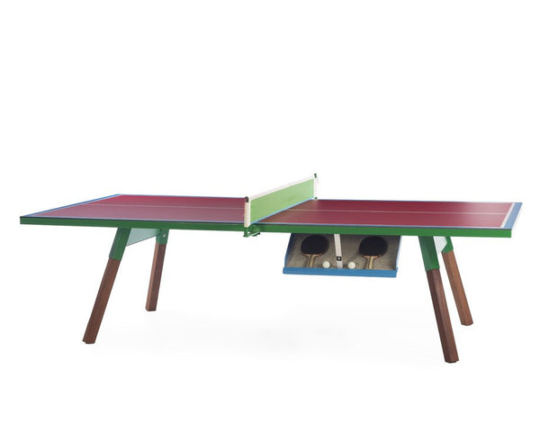 You & Me Zuzunaga Luxury Ping Pong Table - Magenta