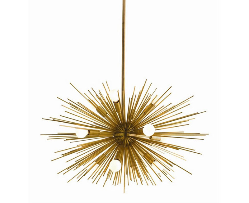 Antique Brass Zanadoo Chandelier | DSHOP