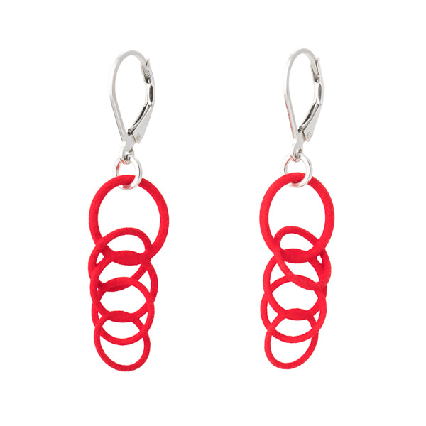 Torii Red earrings