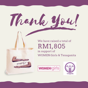 RM1,805 Raised from the #EachForEqual Tote Bag Project