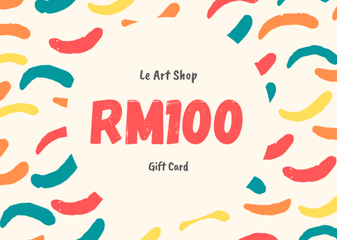 Le Art Shop RM100 Gift Card