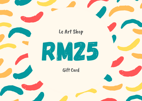 Le Art Shop RM25 Gift Card