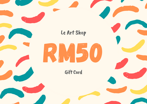 Le Art Shop RM50 Gift Card