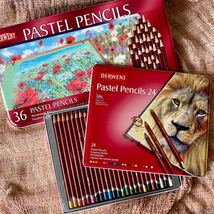 Derwent Woodcased Pastel Pencils