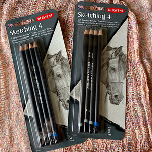 Derwent Sketching Pencils set of 4