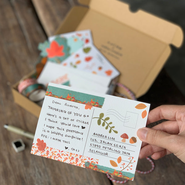 For the Love of Autumn: Workshop Kit | Post Cards