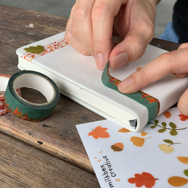 For the Love of Autumn: Workshop Kit | Sketchbook