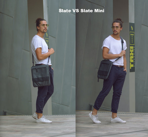 Etchr Slate Satchel | Minimalist Art Bag
