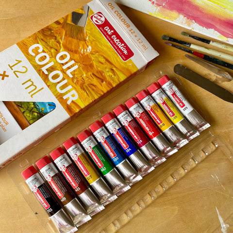 Talens Art Creation Oil Colour - 12 colour set