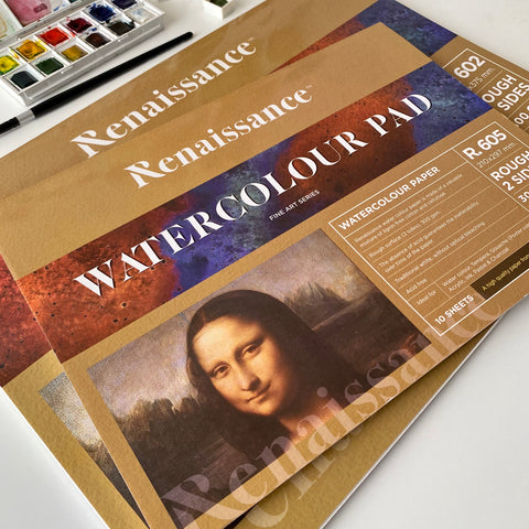 Renaissance Watercolour Pad 300gsm