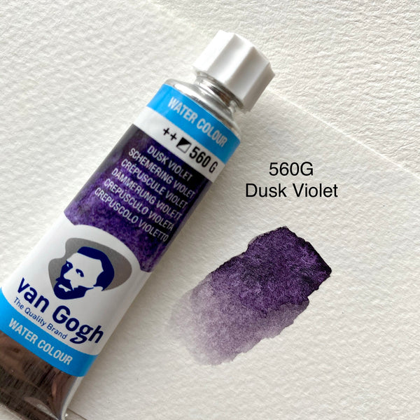 Van Gogh Watercolour | Hand Poured Half Pan