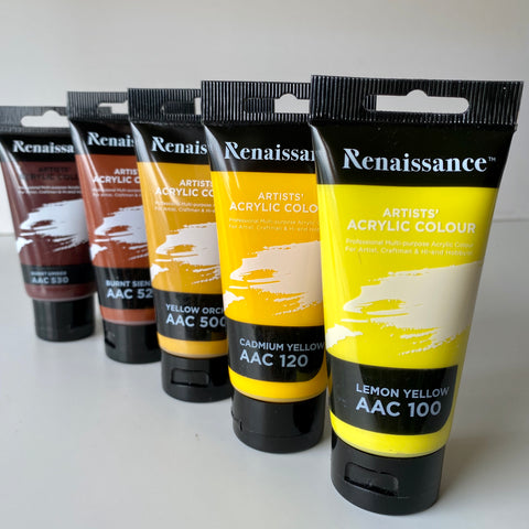 Renaissance Acrylic Paints | 75ml