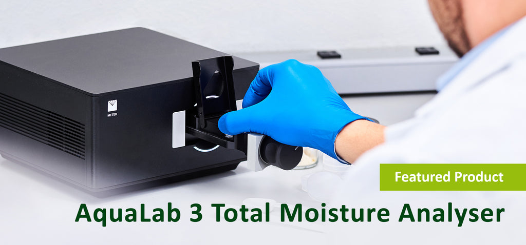 Click here to learn more about the AquaLab 3 Total Moisture Analyser.