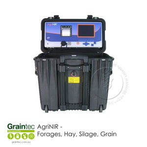 AgriNIR™ portable NIR analyser for forages and grains - Available at GRAINTEC SCIENTIFIC (Australia)