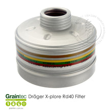 Load image into Gallery viewer, Dräger X-plore Rd40 Filters