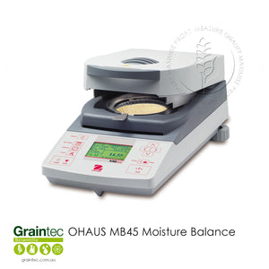 OHAUS MB45 Moisture Balance - Available at GRAINTEC SCIENTIFIC (Australia)