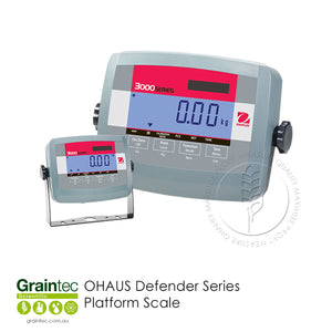 OHAUS Defender Series Platform Scale - Available at GRAINTEC SCIENTIFIC (Australia)