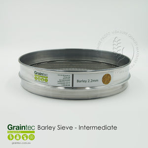Barley Malt Sieve Slot 2.2 x 25 Intermediate