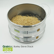 Load image into Gallery viewer, Barley Sieve Stack - Available at GRAINTEC SCIENTIFIC (Australia)