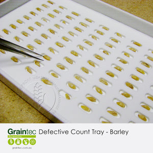 Defective Count Tray - Barley