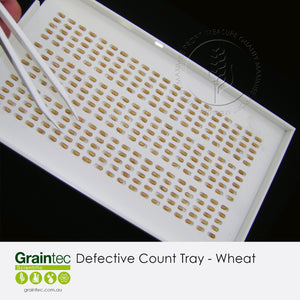 Defective Count Tray - Wheat