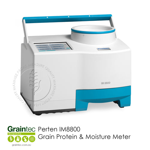 Perten IM8800 Grain Protein & Moisture Meter - Available at GRAINTEC SCIENTIFIC (Australia)