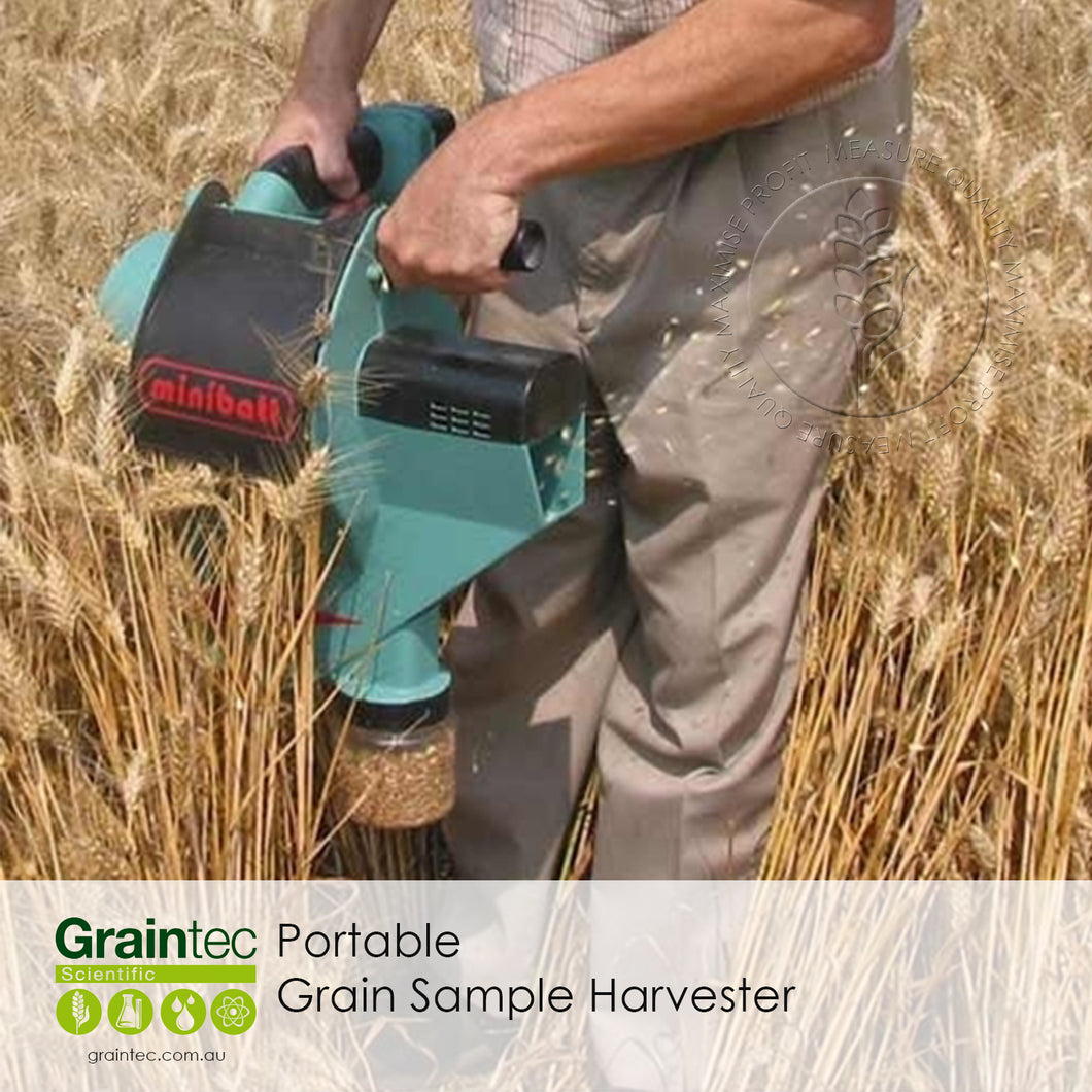 Minibatt Portable Grain Sample Harvester
