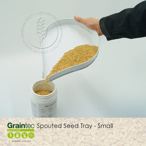 250mm Spouted Grain Tray