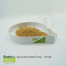 Load image into Gallery viewer, 250mm Spouted Grain Tray
