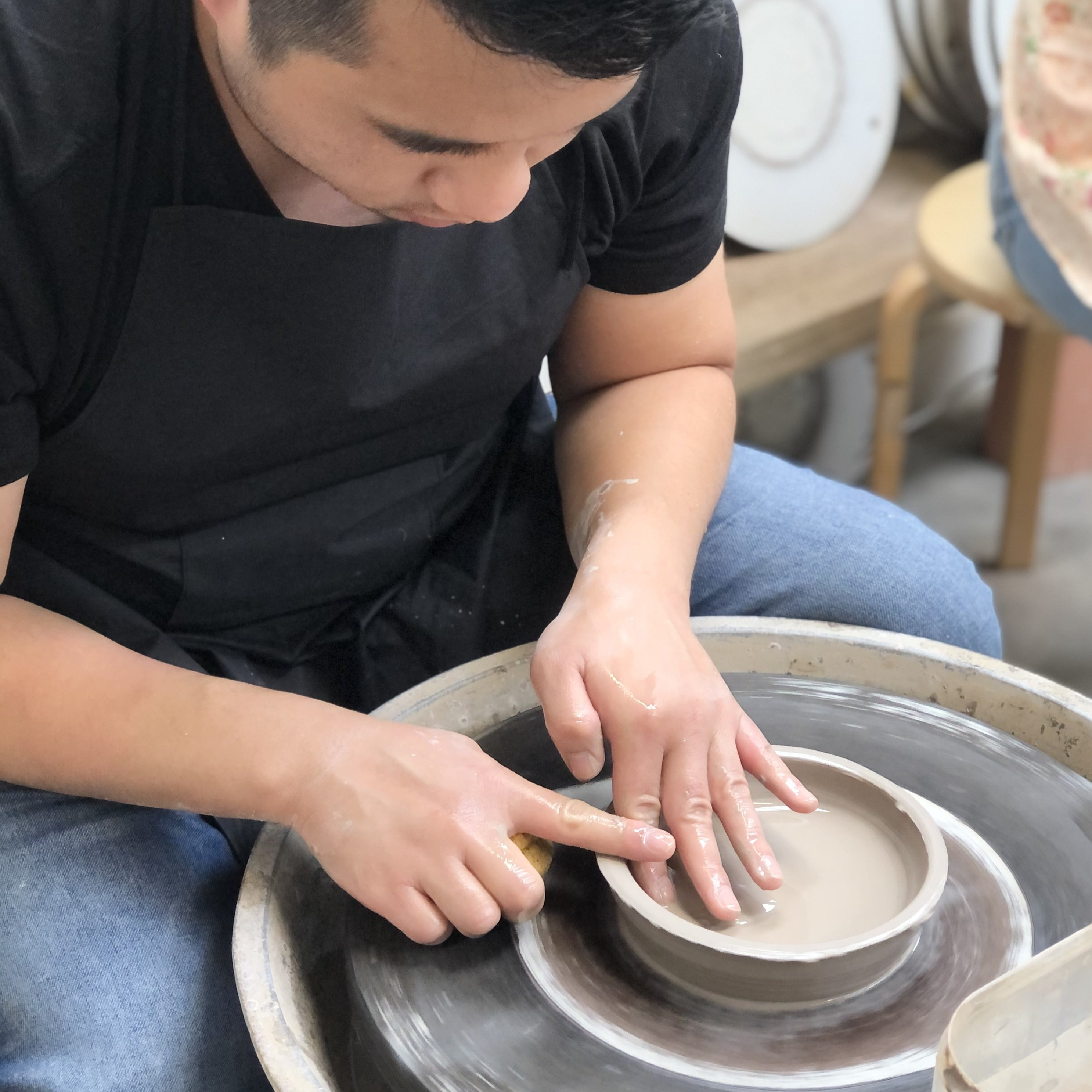 4 Week Introduction to Wheel Throwing (1 - 29 March | 6 - 8.30pm)