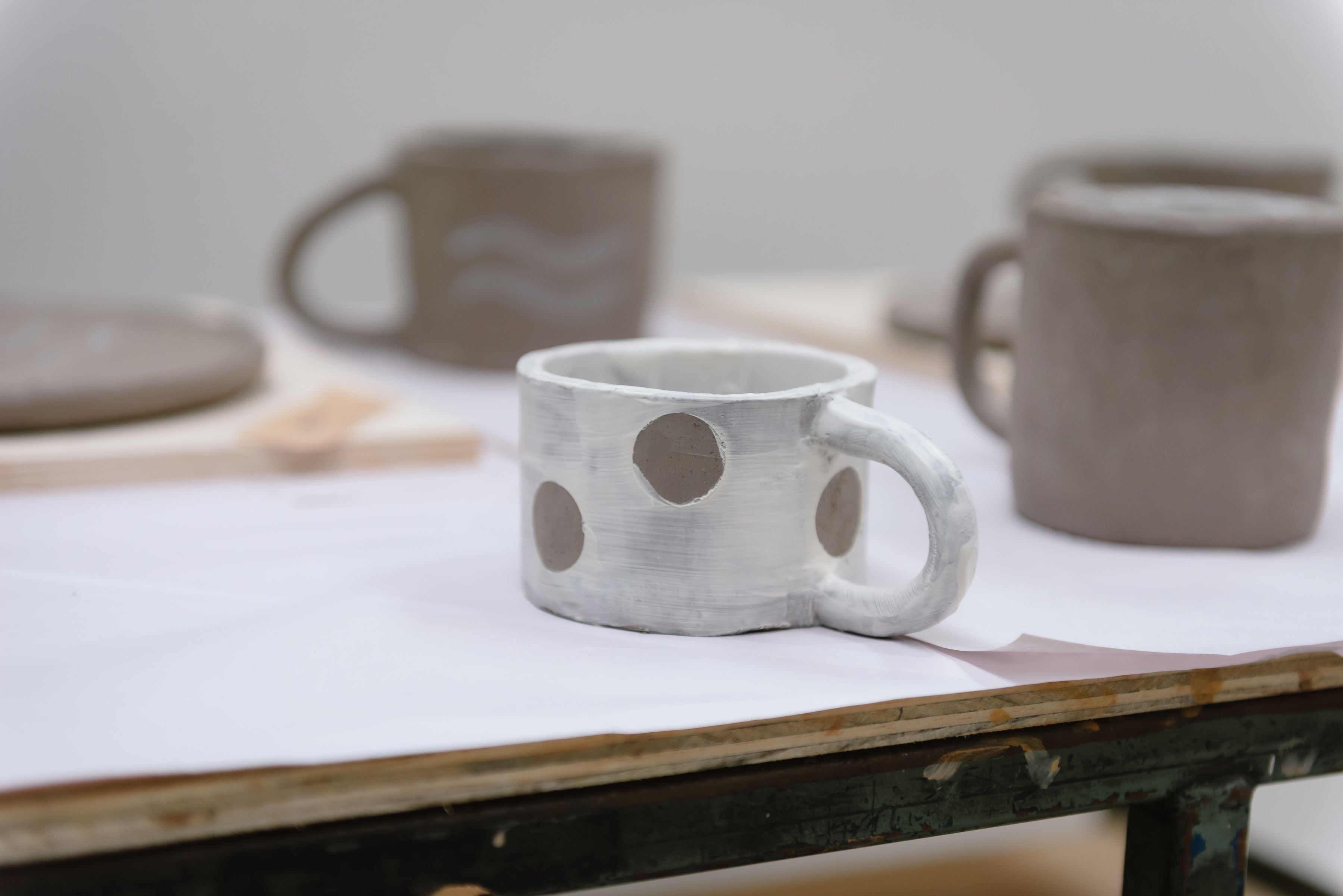 Hand Built Plate & Mug Sets - Made by Bowie