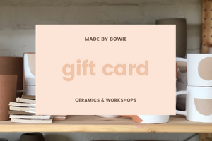 Made by Bowie Digital Gift Card - Made by Bowie