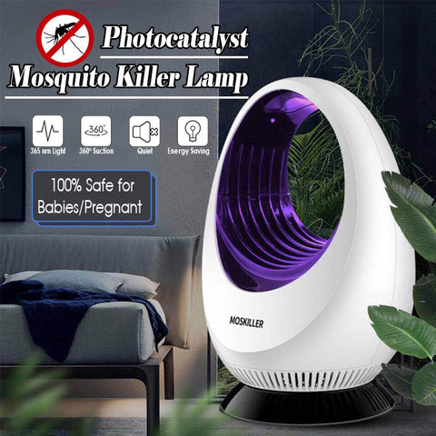 Natural Mosquito Killer Repellent Bug Zapper Trap Electric Insect Pest Control