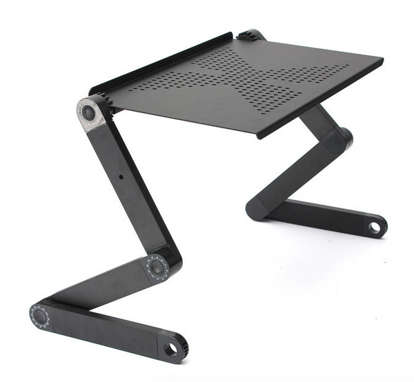 Adjustable Laptop Table Stand for Bed Couch Portable Lap Desk