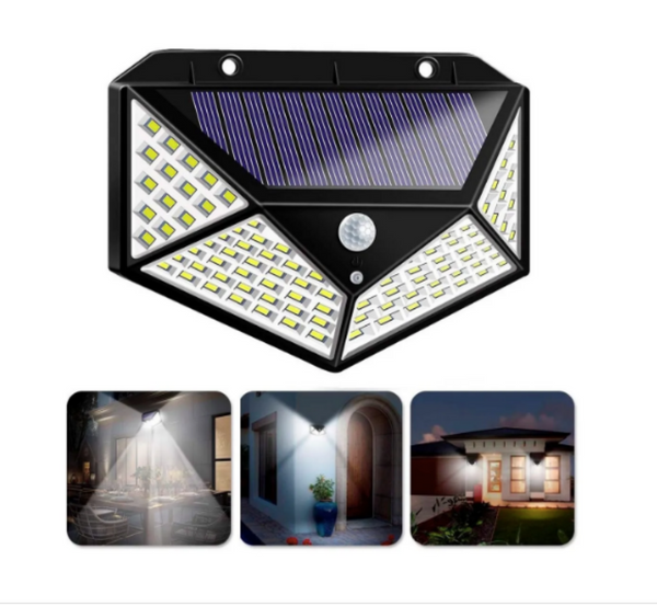 ARILUX® 100 LED Outdoor Solar Lights Motion Sensored Media 1 of 18